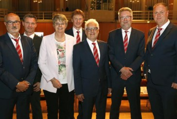 FLVW-Verbandstag 2019: Zwei Beisitzer ergänzen wiedergewähltes Präsidium