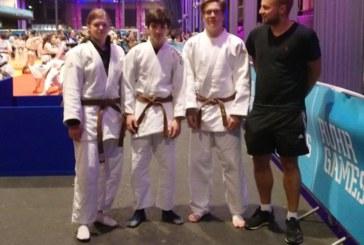 JCH-Judoka Tjaven Nentwig und Lea Reinecke erkämpfen vier Medaillen bei den RuhrGames