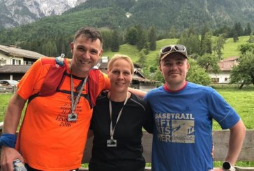 Drei Läufer des TLV Rünthe bewältigten den Zugspitz Ultratrail