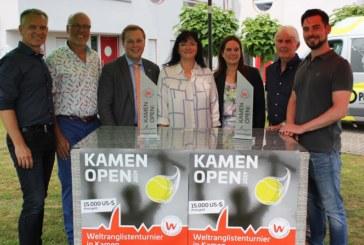 Internationale Nordrhein-Westfälische Tennis-Meisterschaften der Herren  – Kamen Open – Spitzentennis garantiert  – Montag geht es los