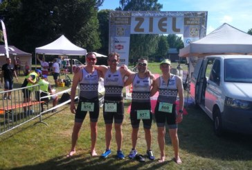 Hartman Tri's beim Triathlon in Harsewinkel