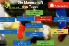 Fußball: Mannschaft des Tages – Ober-, Landes- und Bezirksliga