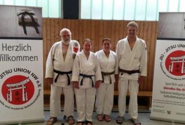 Begeisterte Jiu Jitsu-Sportler des JCH nehmen am Sommerlehrgag der JJU teil