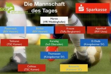 Fußball: Mannschaft des Tages – Kreisliga A