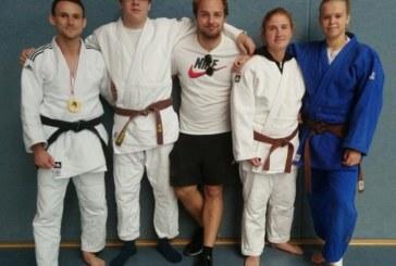 Vier Judoka des JC Holzwickede qualifizieren sich für die Westdeutschen Einzelmeisterschaften