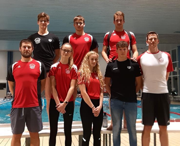 Wasserfreunde TuRa Bergkamen starten erfolgreich bei den NRW-Kurzbahnmeisterschaften in Wuppertal