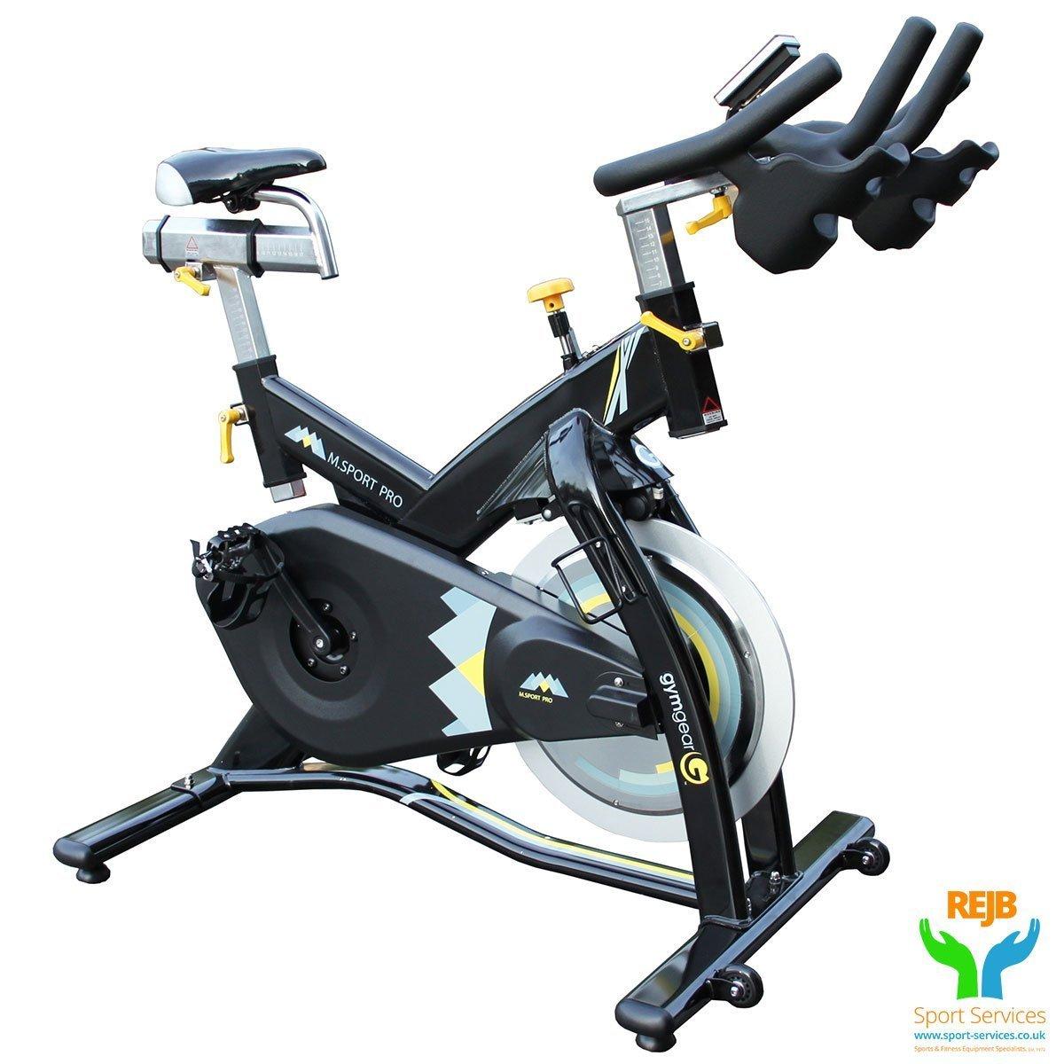 Gym Gear M Sport Pro Indoor Spin Bike Rejb Sports Services