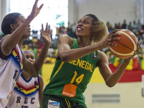 Afrobasket-Bamako 2017 : Impériale Ramata Daou face aux égyptiennes