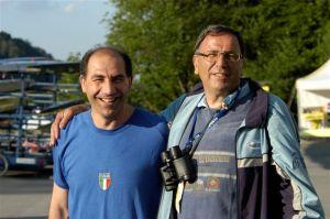 Un sodalizio vincente in passato e speriamo anche in futuro: Giuseppe Abbagnale e Giuseppe La Mura