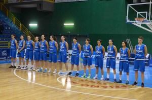 La Nazionale basket femminile