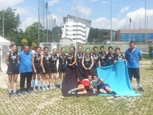 HF Lorenzoni fessteggia il 15 scudetto nel massimo campionato di Hockey femminile