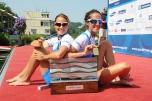vincitrici della medaglia d'oro a Lucerna