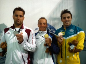 Federico Morlacchi campione del mondo 100 delfino