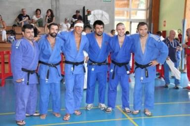 la squadra Judo dell'Emilia