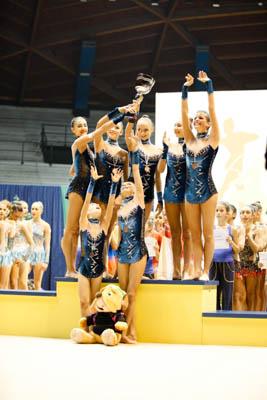 Le ragazze dell'Armonia d'Abruzzo sul podio della A1