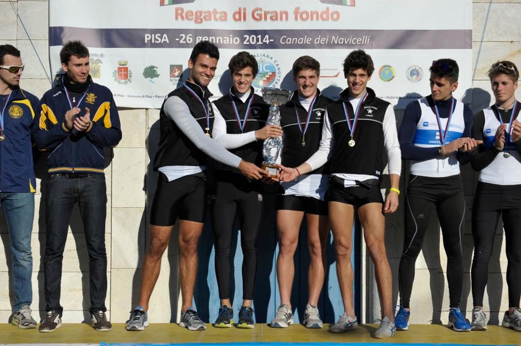 Navicelli Rowing Marathon, valevole per la Coppa Italia di Gran Fondo