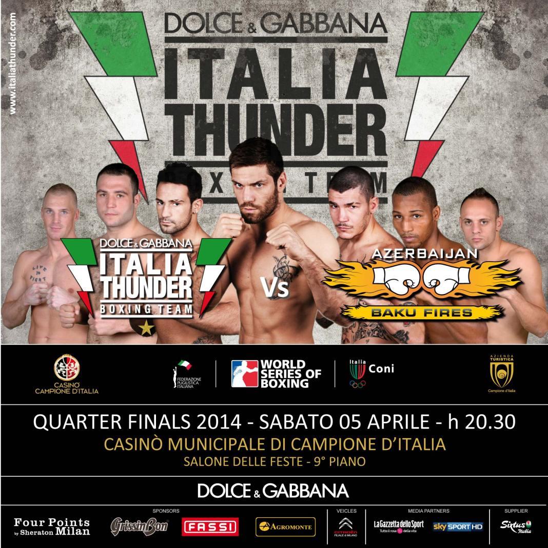 WSB, Dolce & Gabbana Italia Thunder vs Baku Fires