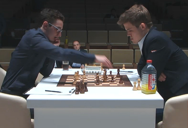 Fabiano Caruana, Magnus Carlsen, Memorial Gashimov