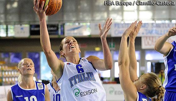 Eurobasket Women 2015 Italia Estonia