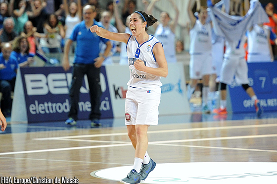 Francesca Dotto, Eurobasket Women 2015