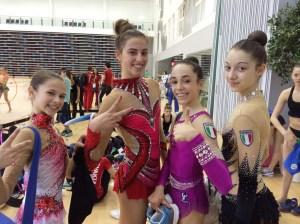 Europei Ritmica a Baku, azzurre juniores
