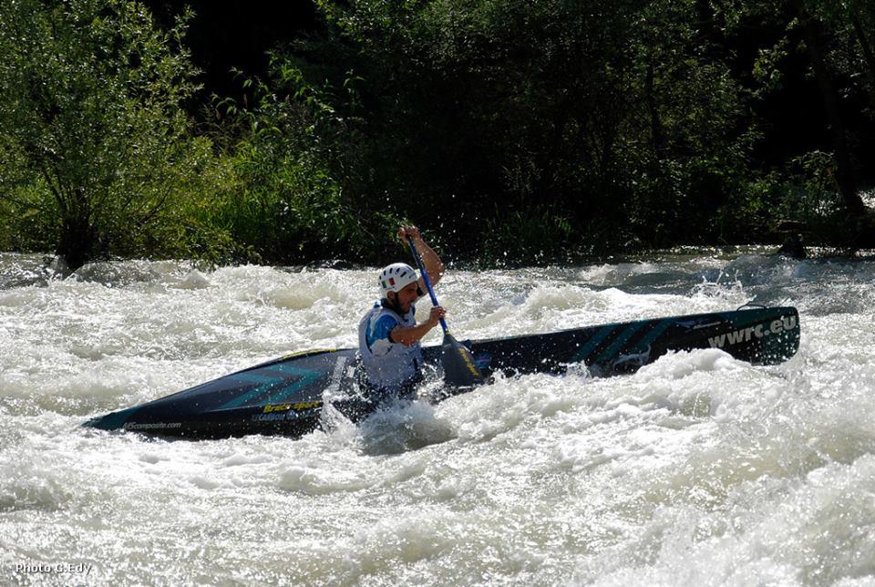 Mattia quintarelli Mondiali Canoa discesa Valtellina