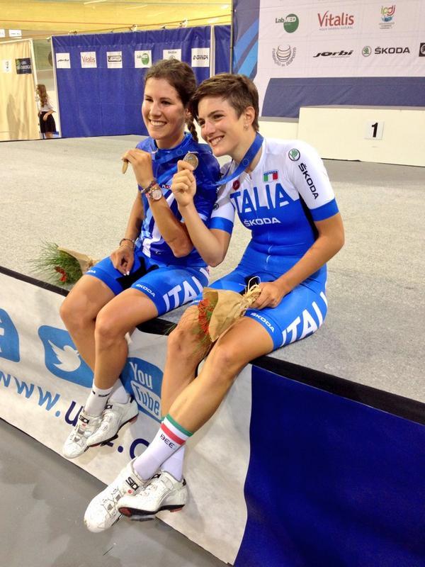 Europei ciclismo su pista, Cecchini e Confalonieri