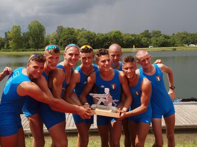 Coupe de la Jeunesse 2014, l'otto festeggia