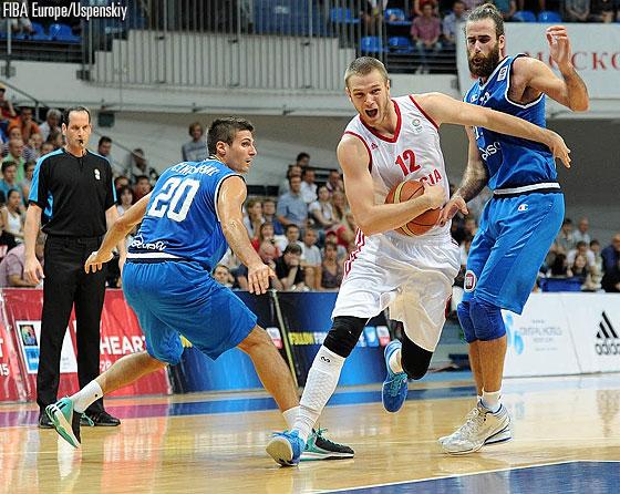 Eurobasket 2015, Russia Italia