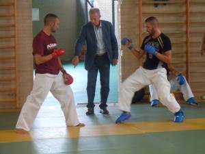 Golden league karate