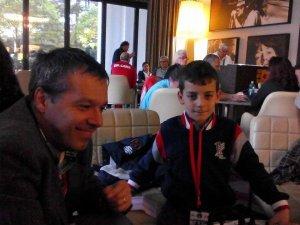 Claudio Paduano, Federico Manca, Fabiano Caruana, Grand Prix FIDE