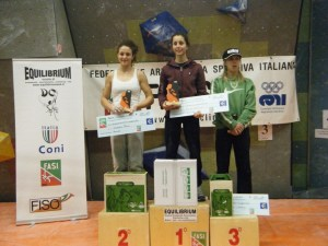 Campionati Italiani Boulder 2014, Asja Gollo