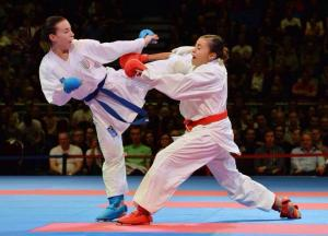 Mondiali Karate, Sara Cardin