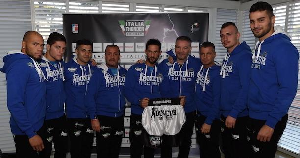 Italia Thunder 2015 team