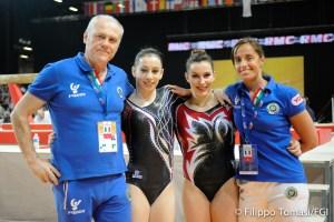 Campionati europei di Ginnastica Artistica, Fasana Rizzelli
