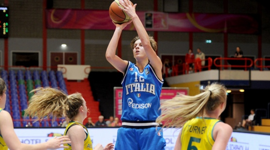 Italia Australia, Nazionale Basket femminile