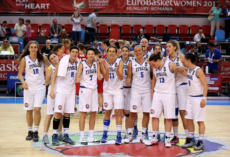 Eurobasket Women 2015, Team Italia