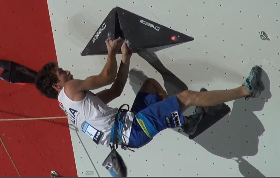 Stefano Ghisoldi, Coppa del Mondo Lead Chamonix