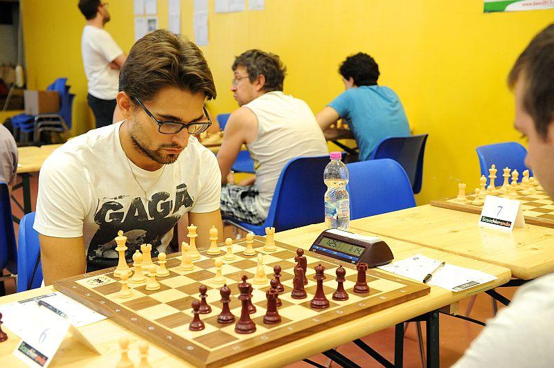 Axel Rombaldoni, Campionato Italiano Assoluto di Scacchi