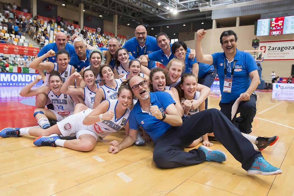 Mondiali U17 basket femminile