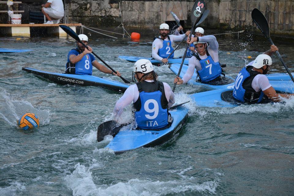 Mondiali di Siracusa, Canoa Polo
