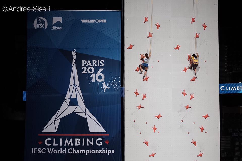 Mondiali arrampicata parigi