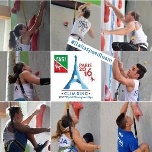 Mondiali arrampicata Parigi, azzurri speed