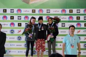 Laura Rogora podio, Mondiali Giovanili in Cina