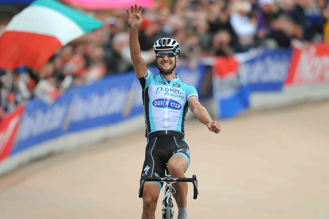 Tom Boonen Roubaix 4