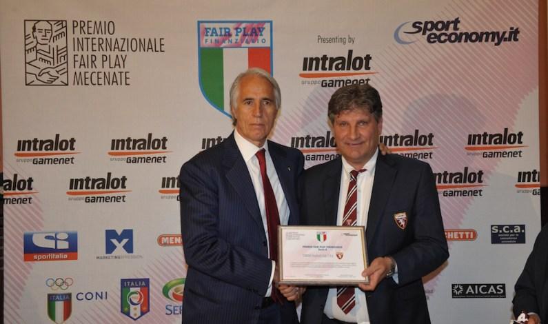 Il Torino è campione d'Italia del Fair Play Finanziario per la Serie A