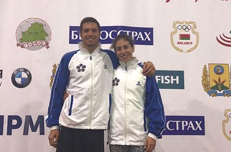 Europei Pentathlon a Minsk: Frezza e Petroni d'argento