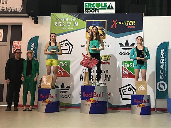 Coppa Italia Boulder, a Thiene successi di Iagnemma e Fogu