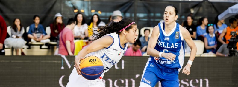 Le Azzurre qualificate alla FIBA 3×3 Europe Cup di Bucarest