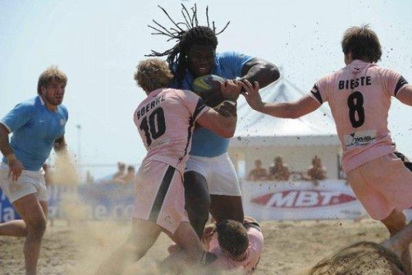 Finale di Coppa Europa di Beach Rugby a Lignano Sabbiadoro